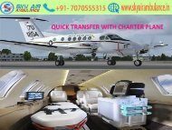 Avail 24-hours Sky Air Ambulance services from Bangalore to Delhi at low cost
