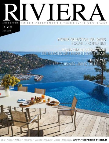 Riviera Sélections - Mars 2018