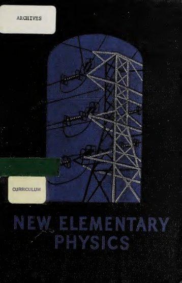 New elementary physics