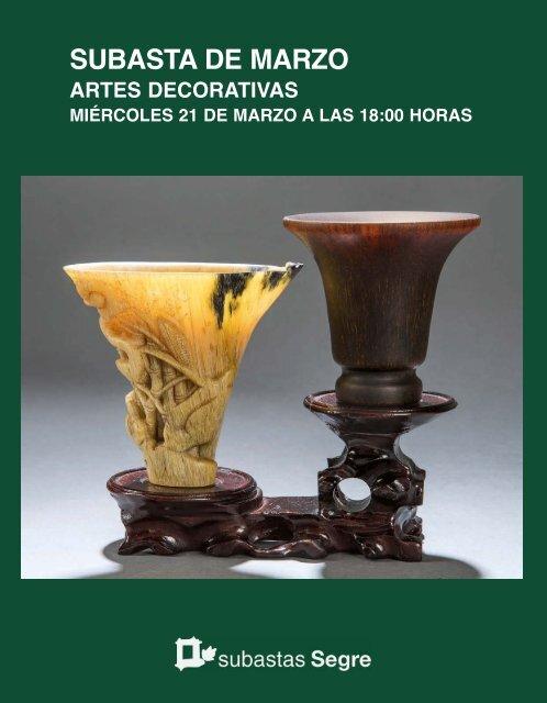 Artes Decorativas Marzo 2018