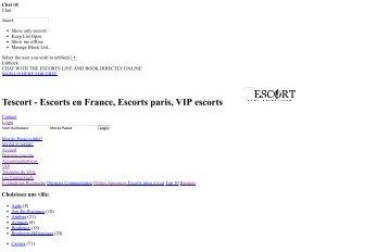 Escort girl annonces en France - tescort.com