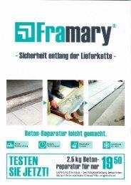 Framary Broschuere Fruehjahr 2018