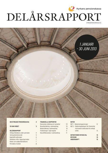 Delårsrapport 2013