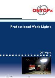 ONTOPx OT LED Work Lighting