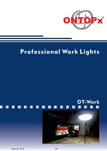 ONTOPx OT LED Work Lighting