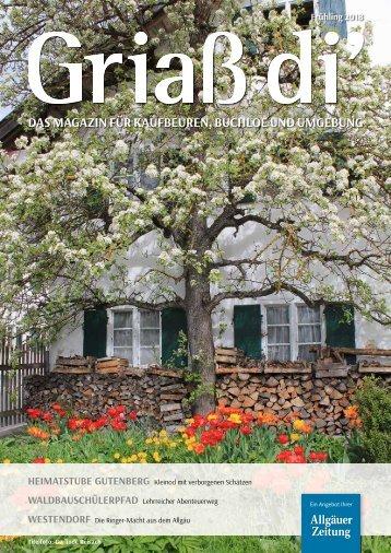Griaß di' Magazin - Frühling 2018