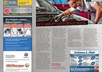 KFZ-Hauptuntersuchung: Bleiben Sie in Fahrt