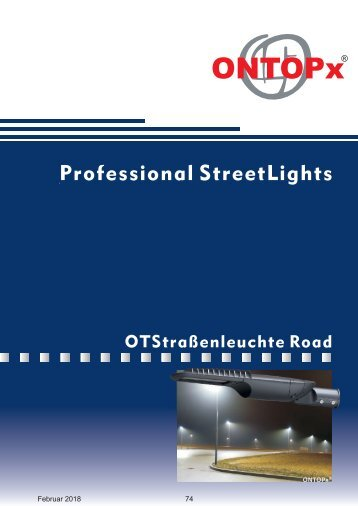 ONTOPx Road LED Lighting
