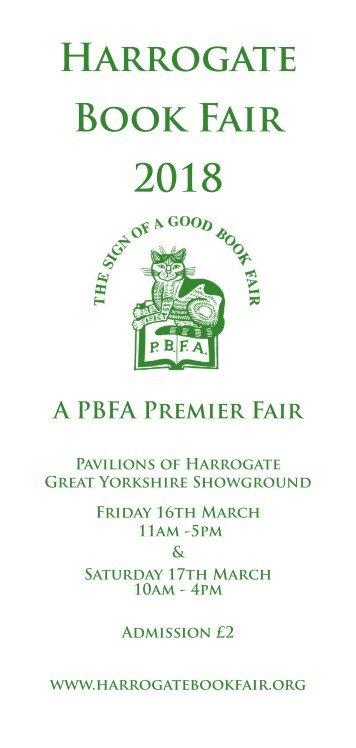 Harrogate Premier Book Fair Catalogue 2018