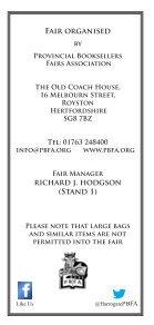 Harrogate Premier Book Fair Catalogue 2018 - Page 2