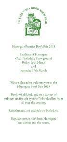 Harrogate Premier Book Fair Catalogue 2018 - Page 3