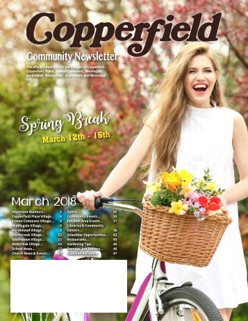 Copperfield March 2018