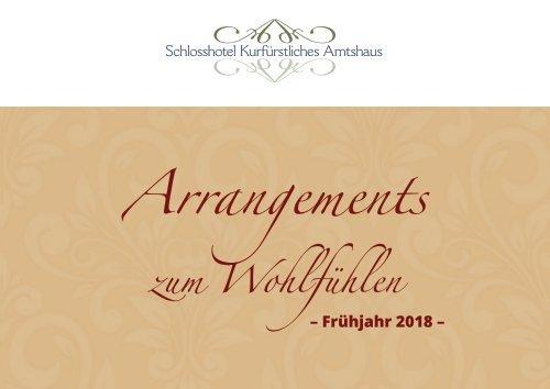 Arrangements zum Wohlfühlen – Schlosshotel Kurfürstliches Amtshaus