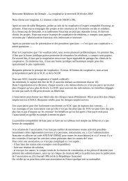 CR Réunion coopérative 28 février