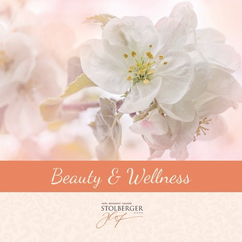 Beauty & Wellness im Stolberger Hof im Harz