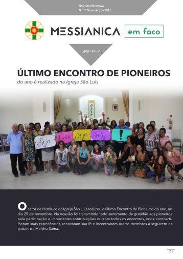 Boletim informativo Novembro 2017