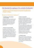 Guide pratique Réussir l'entretien d'embauche ... - Carrefour Emploi - Page 6