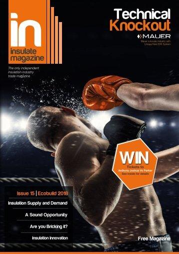 Insulate Magazine Ecobuild 2018 Special Edition