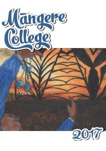 Mangere College Magazine 2017