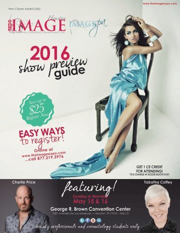IMAGE Show Preview Guide Houston 2016