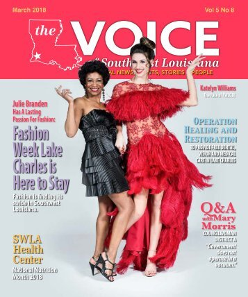 The Voice of Southwest Louisiana March 2018 Issue