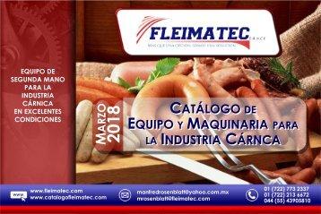 Catálogo Fleimatec Marzo 2018