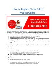 How to Register Trend Micro Antivirus Online?