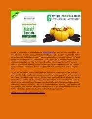 Nutralu Garcinia - Helps Your Body Slim Down