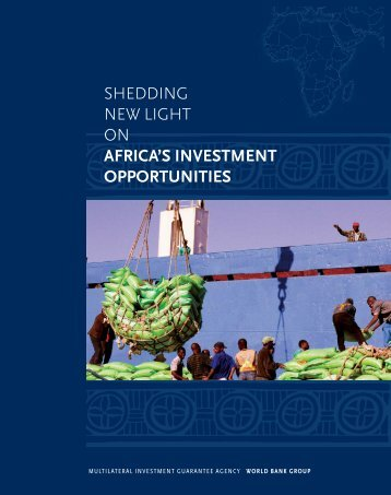 africa shedding/2 - Investment Climate