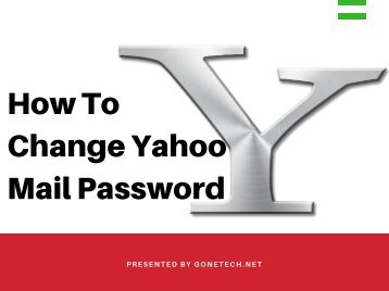 Change Yahoo Mail Password Through Amazing Tricks - You Can't Miss!!!