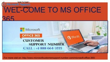 Call +1-888-664-3555 Microsoft office 365 Customer Care Number