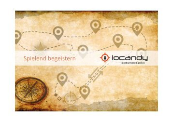 locandy Multi Media Guide - City Guides, Abenteuer-/Themenwege, Edutainment uvm.