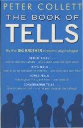 The Book of Tells (Peter Collett)[unlocked]