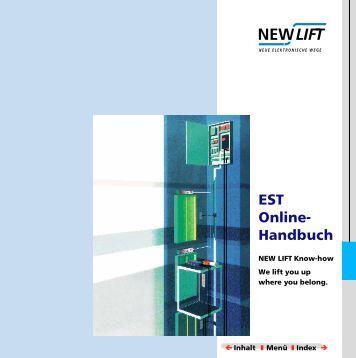 EST Handbuch Online- - New Lift
