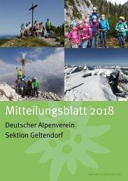 Mitteilungsblatt 2018