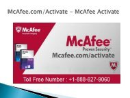 McAfee.comActivate  McAfee Activate