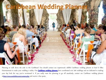 Caribbean Wedding Planner