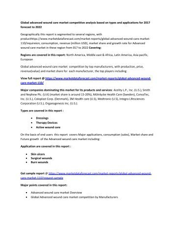 Advanced wound care  new pdf