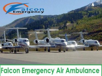 Falcon Emergency ICU Charter Air Ambulance Service in Patna
