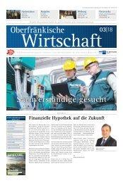 Oberfränkische Wirtschaft Ausgabe 03.2018
