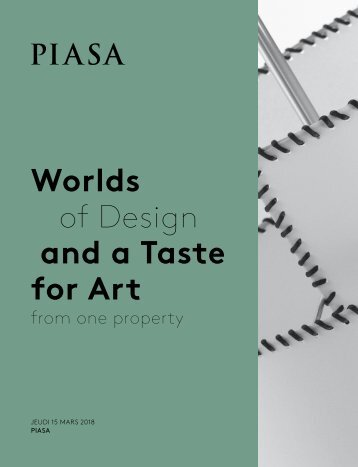 PIASA - Worlds of Design and a Taste for Art