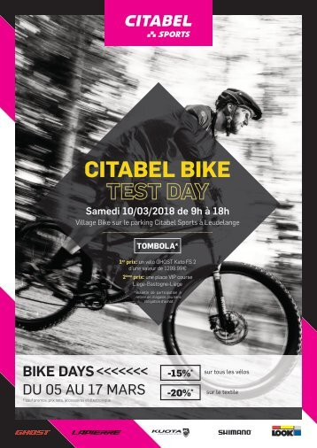 CITABEL BIKE TEST DAY 2018