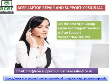 Acer laptop repair and support number- 098015144