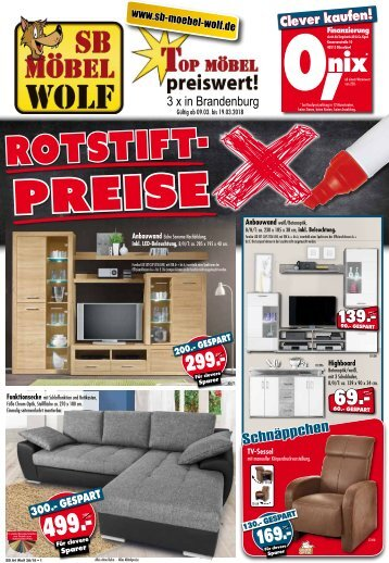 gro er inventurverkauf bei sb m bel wolf in oranienburg neuruppin und bernau. Black Bedroom Furniture Sets. Home Design Ideas