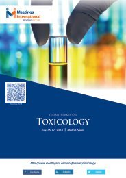 Toxicology Conference-2018-Brochure