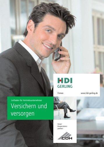 Versichern und versorgen - CDH