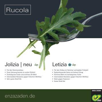 Leaflet Rucola 2018