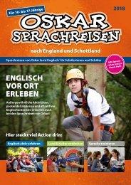 Oskar Sprachreisen 2018