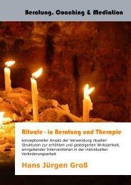 Rituale - in Beratung und Therapie