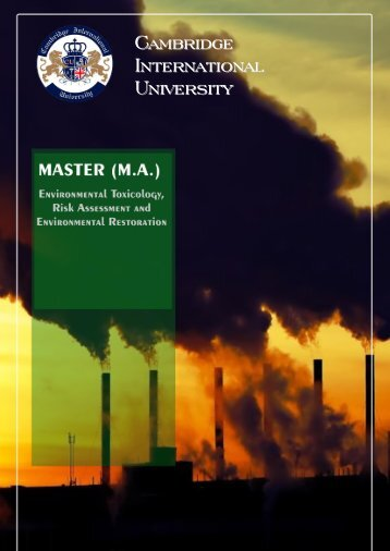 Master_Environmental_Toxicology